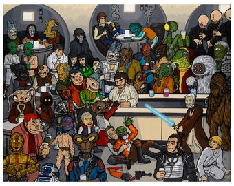 The Mos Eisley Cantina a wretched hive of scum and villainy
