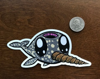 Baby Narwhal Magnet