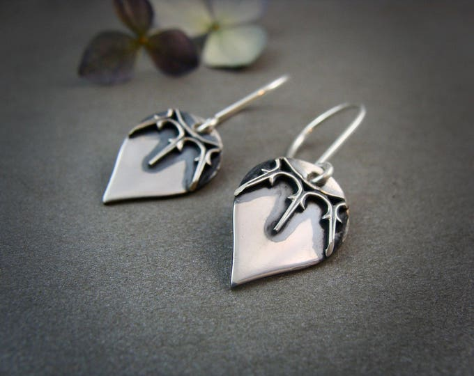 Bella dangles... sterling silver drops, silver dangles, handmade jewelry, gifts for her