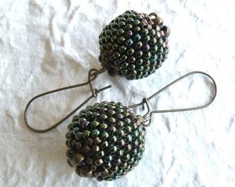 Erin Beaded Bead Earrings