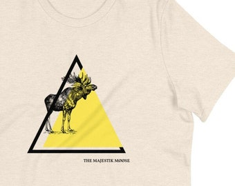 Monty Python Tee Majestik Møøse Shirt Funny Movie Quote Moose T shirt Women's Fit
