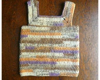 Little Vest PDF Pattern Digital Crochet Baby Toddler Handmade