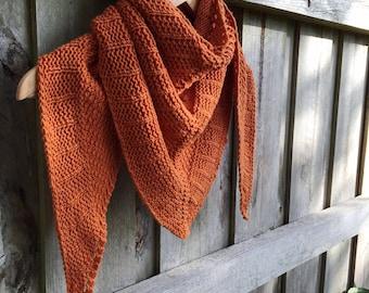 Strata Shawl Pattern Knitting Knit Digital PDF Download Textured Scarf Wrap DK 8ply