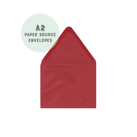 red envelopes a2 4 3 8x5 3 4 size euro flap paper