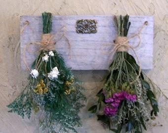 Dried flower rack, drying rack, dried flower arrangement, country decor, farmhouse decor