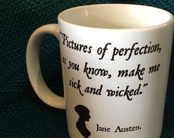 Wicked Jane Austen Mug