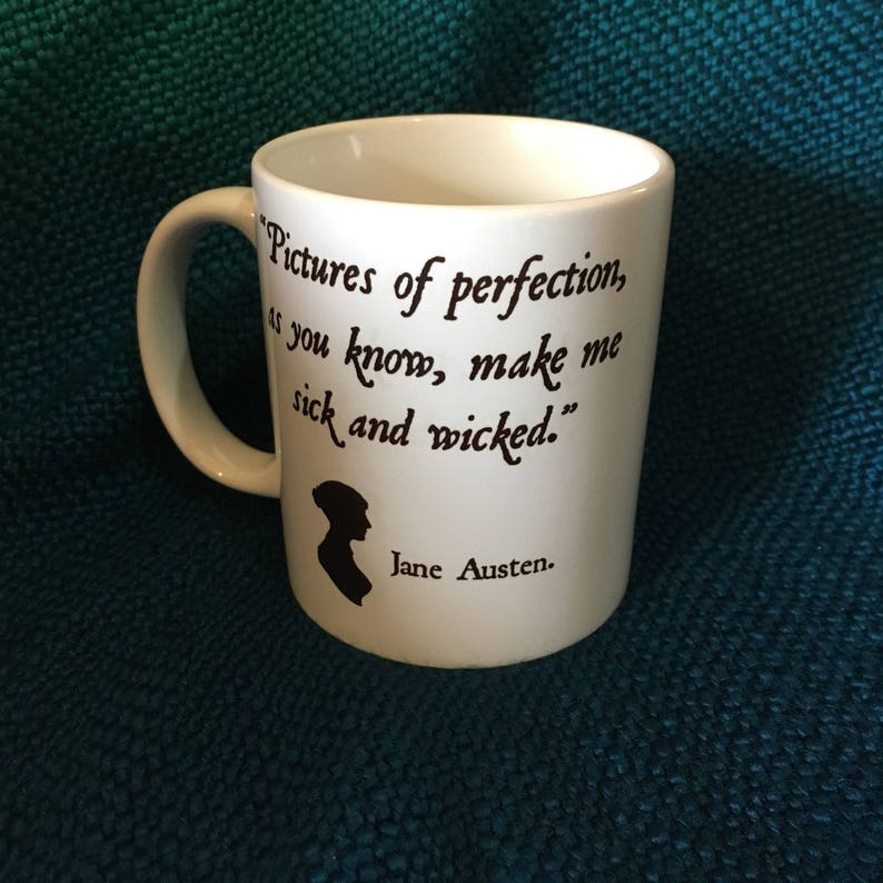 Wicked Jane Austen Mug image 0