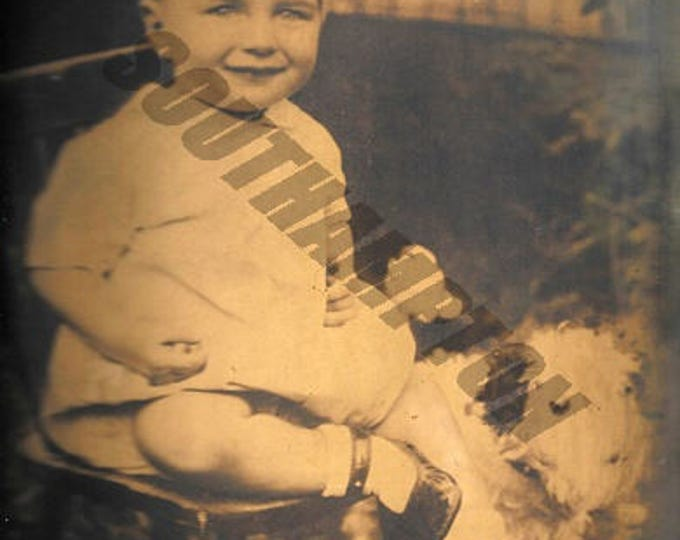 Digital Print 1930s Photo of Boy