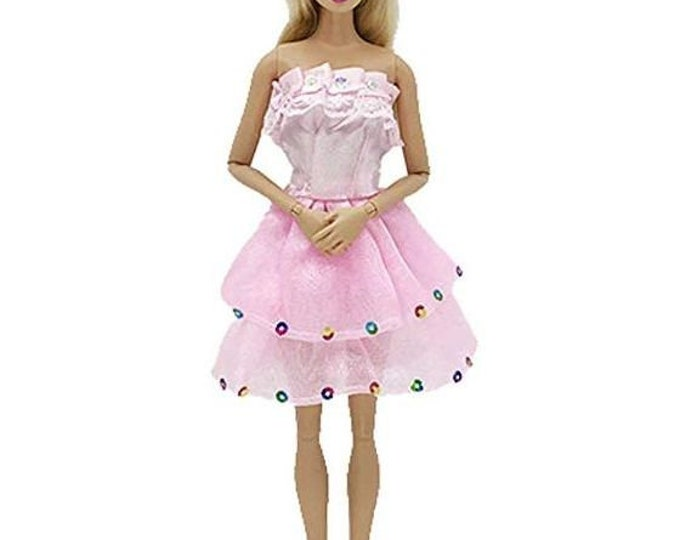 Barbie Party Dress and Shoes