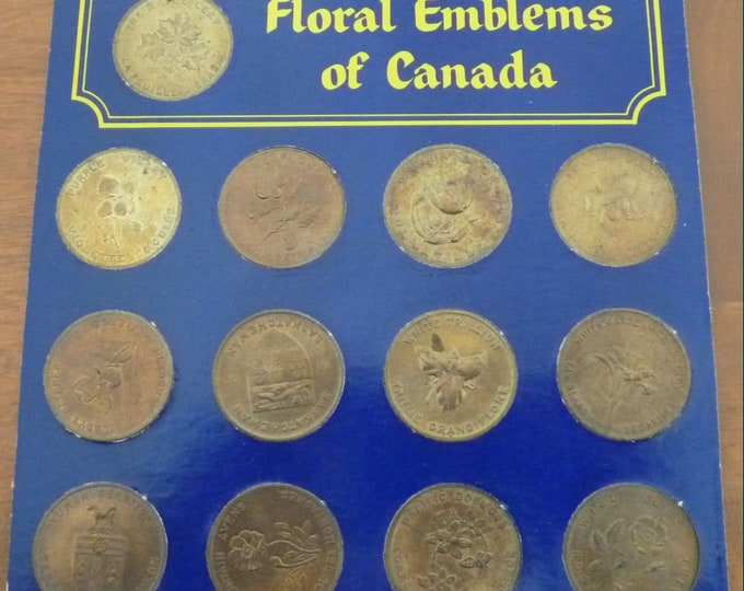 Vintage Coins   Coats of Arms of Canada Uncirculated