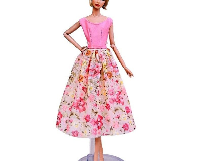 Barbie Doll Countryside Fashion Doll Top and Skirt and Shoes