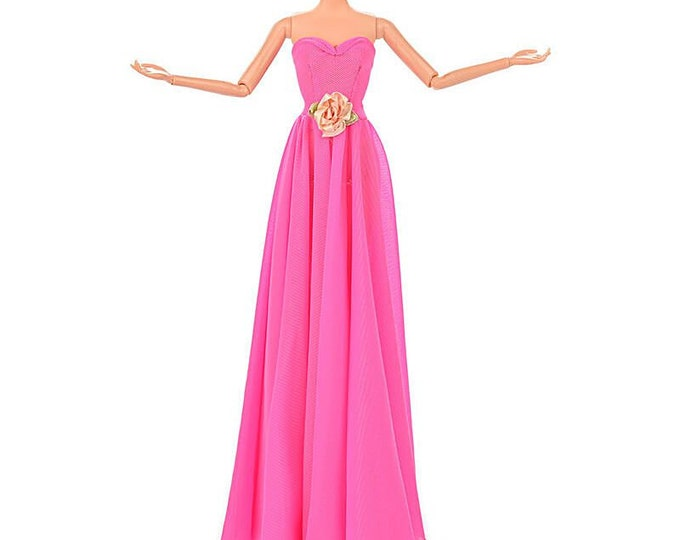 Barbie Elegant Evening Gown and Matching Shoes