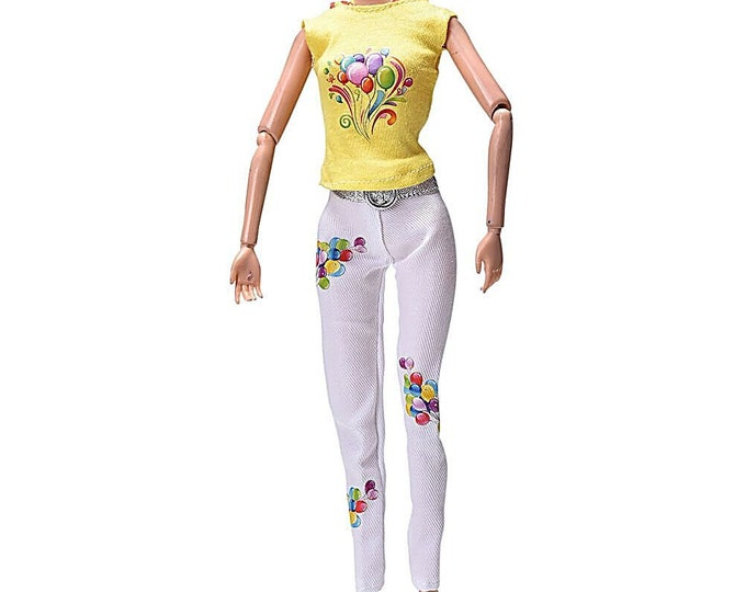 Barbie Hoody Pant Set wish belt and shoes