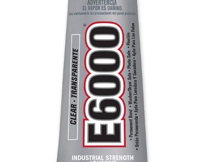 E6000 Clear Glue Industrial Strength Adhesive      109.4 ml