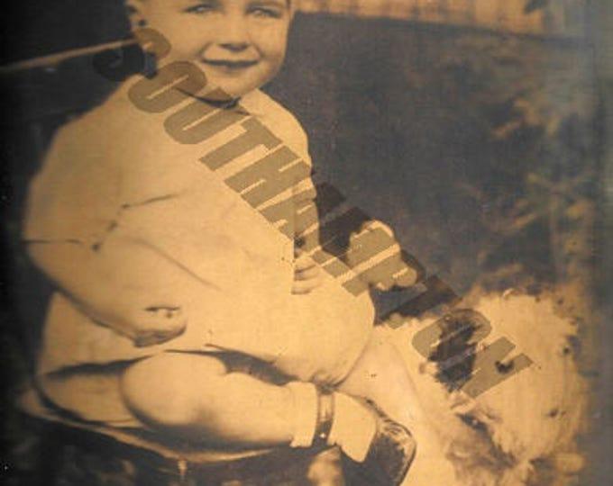 Digital Print 1930s Photo of Boy