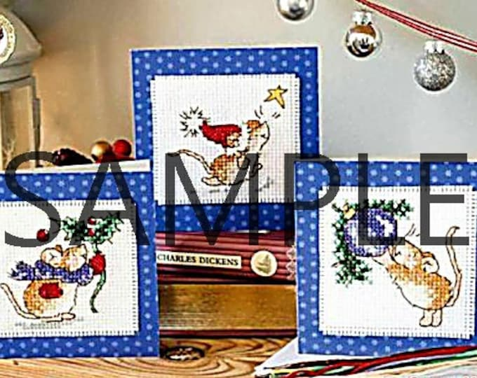 Digital Download Christmas Cross Stitch and Colour Chart
