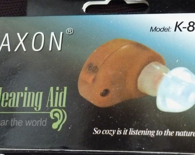 Pair Axon Hearing Aids with Batteries  NEW
