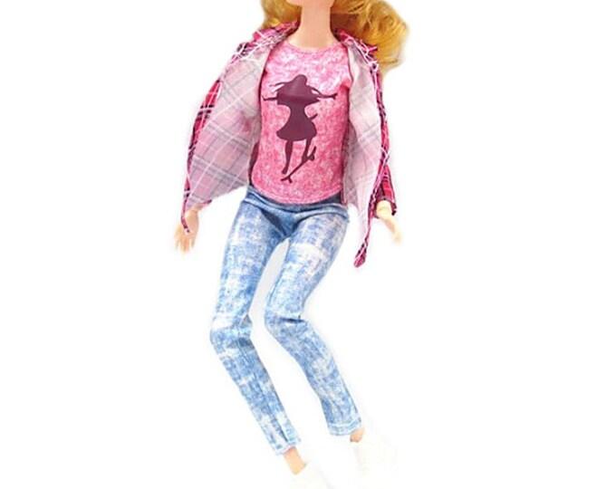 Barbie Jean 3 Piece Set with Shoe