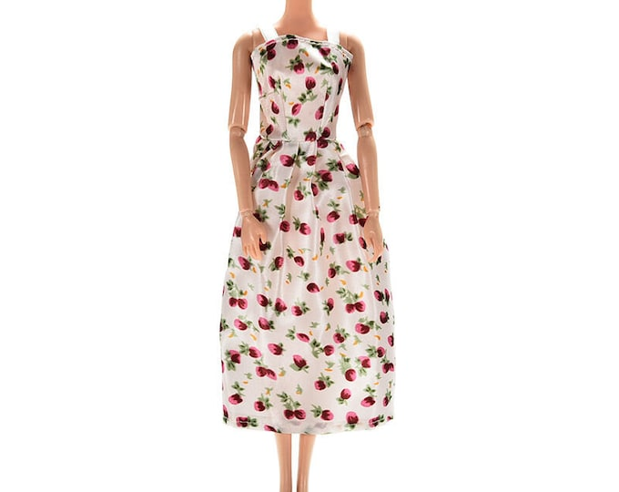 Barbie Summer Sleeves Dress with Shoes