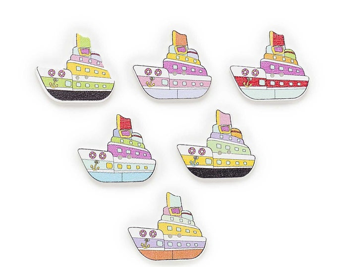 Crouse Liners  Dye Cut Buttons    set of  10  /  7