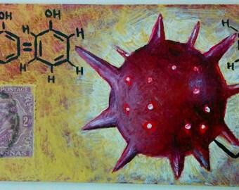 Biotic Potential- Original Mixed media painting