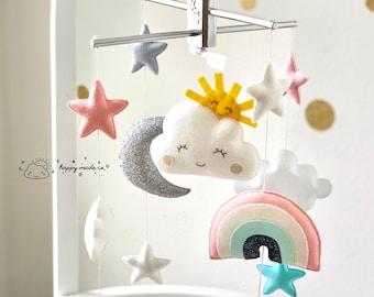 Personalized New Baby Gift Modern Monochromatic Baby Shower Decor Modern Giraffe NurseryBaby Gift Custom Tin Baby Clothing Bouquet