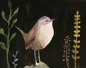 No. 29: Wren Fine Art Print, archival print
