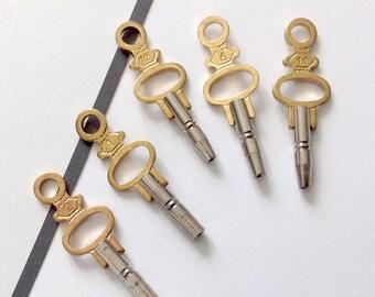 Vintage watch key 35mm genuine watch parts