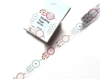 10m roll boho Dreamcatcher Washi Tape