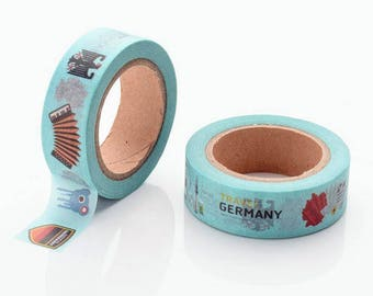 10m roll Germany Washi Tape