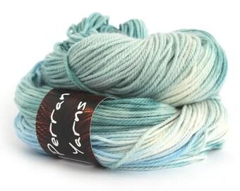 DK fine Falkland merino wool handdyed in shade Chill