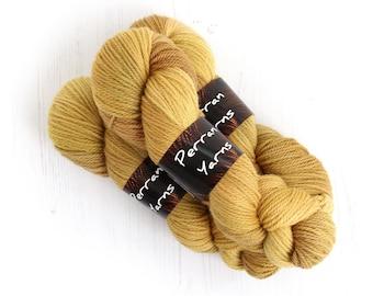 Aran BFL wool handdyed Golden Fields