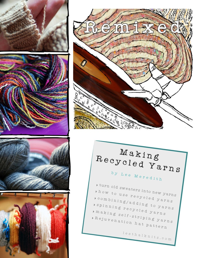 Remixed: Making Recycled Yarns ebook image 0