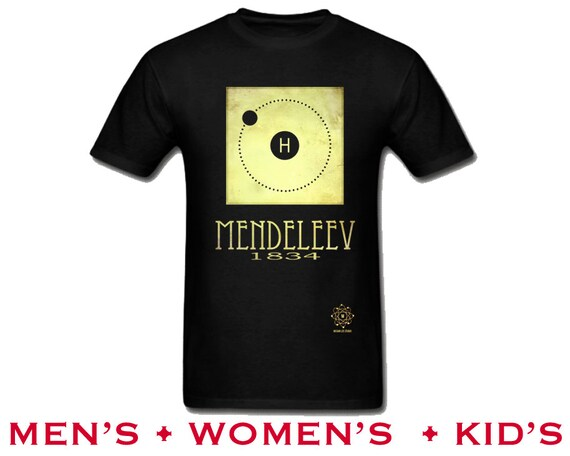 Mendeleev tshirt hydrogen periodic table of elements shirt etsy image 0 urtaz Image collections