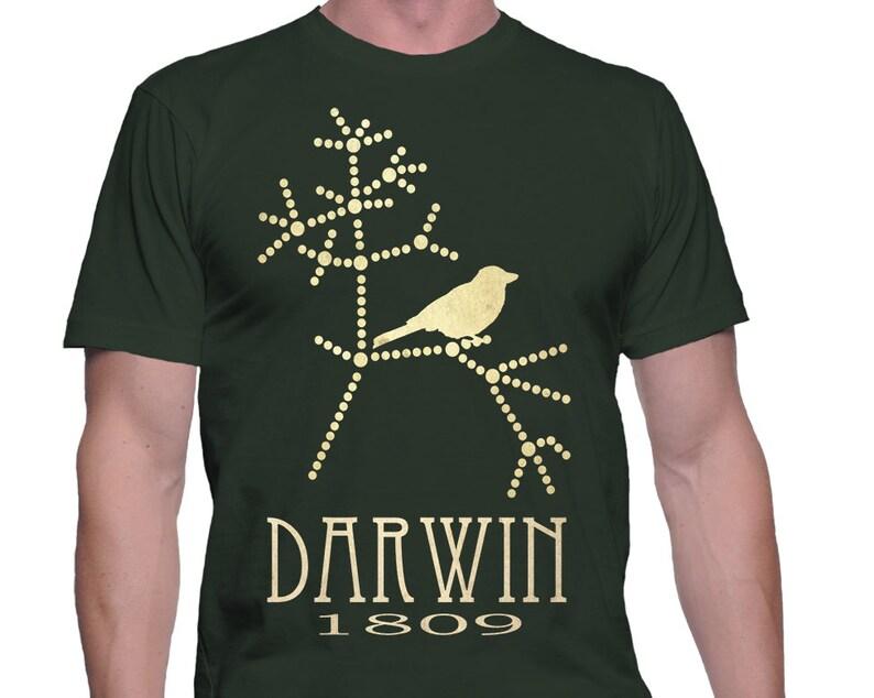 Darwin Tshirt Evolution Shirt Shirt Biology Gift Science image 0