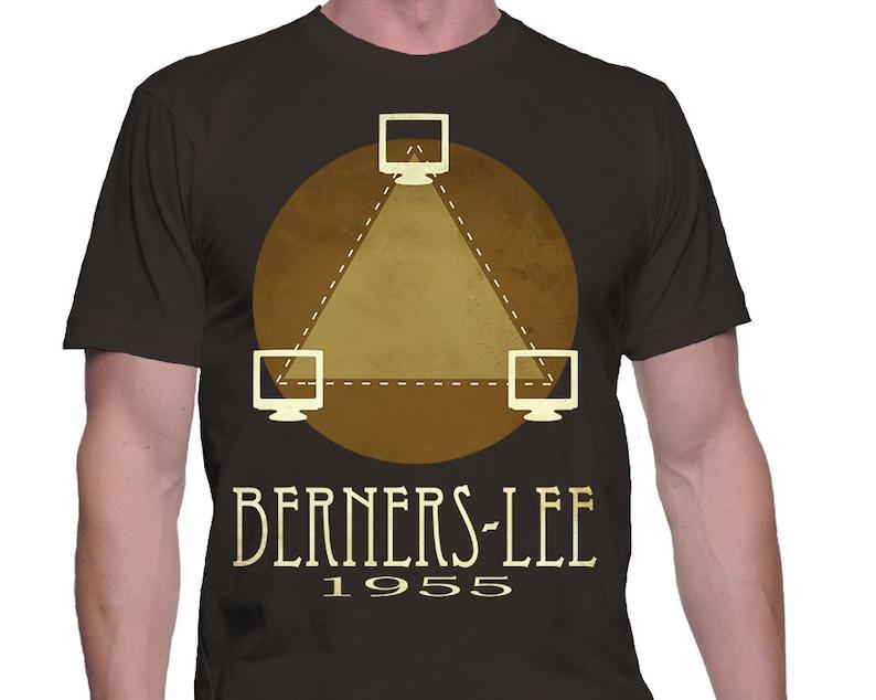 Computer Geek Shirt Internet Inventor Tim Berners Lee Etsy