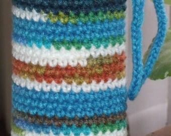 Crocheted Water Bottle Cozy