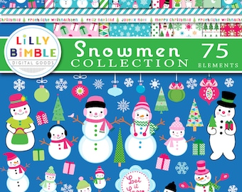 Christmas Digital Paper modern Christmas Tea Scrapbook papers