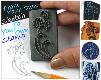 Tutorial How to Make Wonder Stamps for Polymer Clay, new technique, with an additional free tutorial for polymer clay beginners, pdf