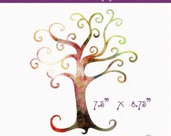 6c3c7d93a Watercolor Tree Clip Art