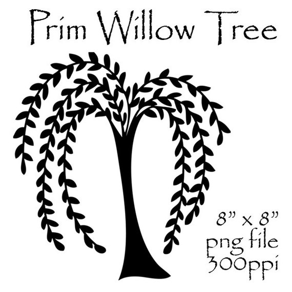 prim willow tree clipart primitive willow tree prim clipart etsy rh etsy com weeping willow tree clipart willow tree clipart free