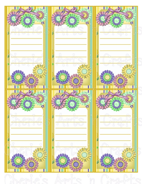 photograph regarding Printable Note Papers called Take note Pads Printables Do-it-yourself Printable Notice Pads Electronic