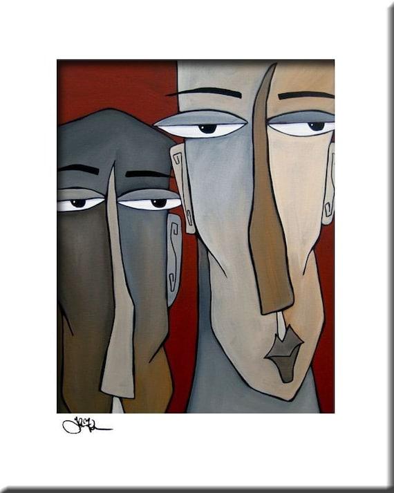 FIDOSTUDIO Original ART Abstract MODERN print Giclee