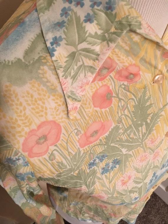 Vintage Blouse/70s Shirt/ 70s fashion