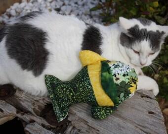 Cat Toys, Pet Supplies, Washable Cat Toy, Fish Catnip Toy, Fabric Cat Toy, Kicker Cat Toy, Colorado Catnip Toys, Cat Nip Toys, Kitty Toys