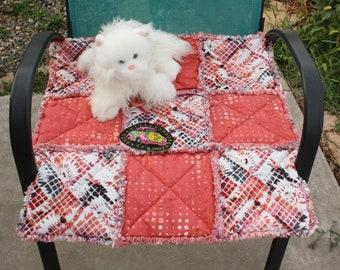 Pet Bedding, Cat Accessories, Dog Accessories, Washable Pet Blanket, Pet Quilt, Coral Pet Bed, Pet Blanket, Handmade Quilt, Sofa Pet Throw