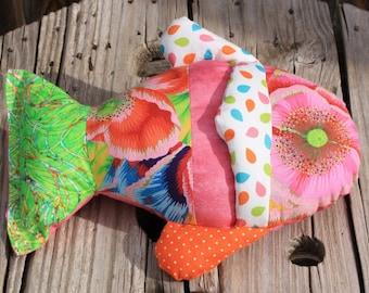 Durable Catnip Toy, Fabric Cat Toys, Catnip Kicker Toys,   Washable Cat Toys, Cat Nip Toys, Colorado Catnip Toys, Fish Toy, Catnip Fish Toy