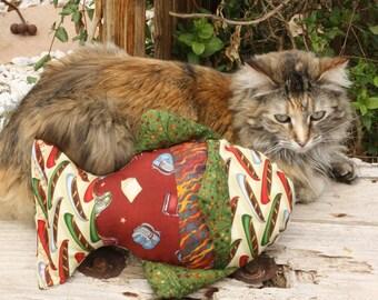 Cat Nip Toy, Cat Toy, Handmade Cat Toy, Catnip Toy, Fabric Cat Toy, Washable Cat Toy, Fish Cat Toy, Fish Catnip Toy, Colorado Catnip Toys