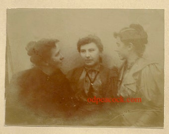 Ghostly spirit sisters women vintage affection oddity ghost female fading aether photo