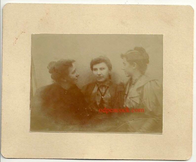 Ghostly spirit sisters women vintage affection oddity ghost image 0